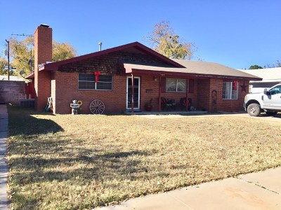 Monahans Single Family Home For Sale: 1505 S Ike Ave