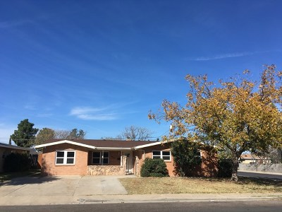 Odessa Single Family Home For Sale: 2425 E 21st St
