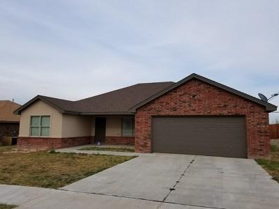 Big Spring Single Family Home For Sale: 611 Baylor Blvd