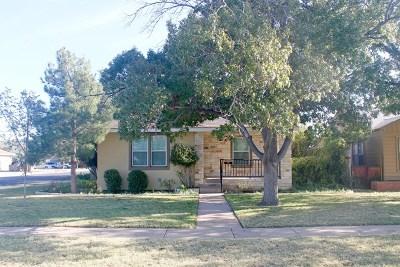 Odessa Single Family Home For Sale: 1920 N Alleghaney Ave