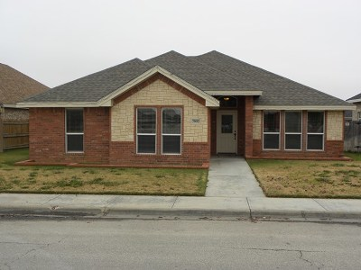 Odessa Single Family Home For Sale: 7002 Stonegate
