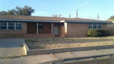 Odessa Single Family Home For Sale: 1203 Wilshire Dr