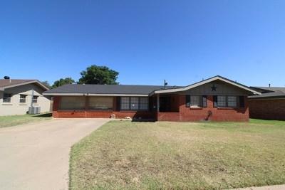 Odessa Single Family Home For Sale: 2807 Cambridge St