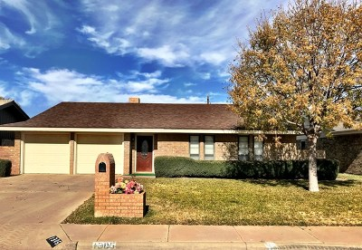 Odessa Single Family Home For Sale: 1305 Cordova St