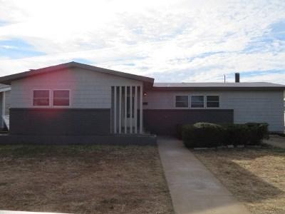 Odessa Single Family Home For Sale: 1402 E 36th St