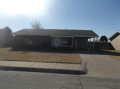 Midland Single Family Home For Sale: 1712 E Pecan Ave