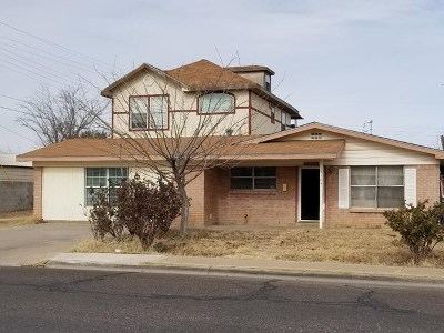 Odessa Single Family Home For Sale: 3104 Park Ave