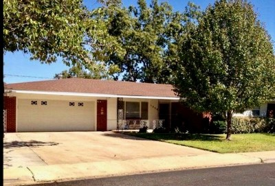 Odessa Single Family Home For Sale: 1426 Custer Ave