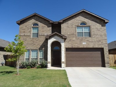 Odessa Single Family Home For Sale: 7020 Circle Cross Rd.