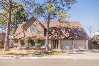 Odessa Single Family Home For Sale: 4035 E 37th St