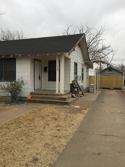 Odessa Single Family Home For Sale: 702 E 35th St