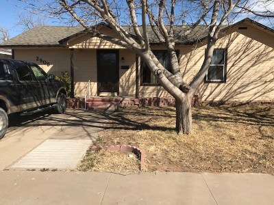 Odessa Single Family Home For Sale: 2906 N Tom Green Ave