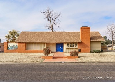 Odessa Single Family Home For Sale: 1523 N Alleghaney Ave