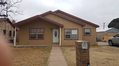 Odessa Single Family Home For Sale: 805 W 25th St