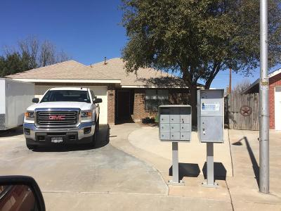 Odessa Single Family Home For Sale: 4313 Buck Place
