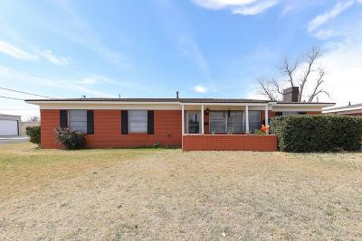 Odessa Single Family Home For Sale: 4301 Clover Ave