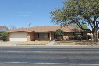 Odessa Single Family Home For Sale: 3649 Maple Ave