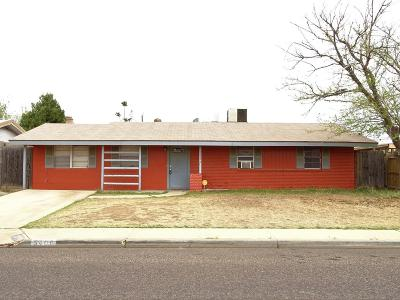 Odessa Single Family Home For Sale: 5406 Clinton Ave
