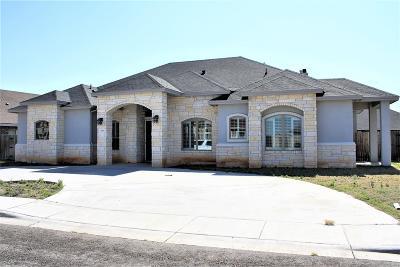 Odessa Single Family Home For Sale: 7608 Vista Del Sol