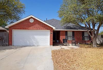Odessa Single Family Home For Sale: 4316 Buck Place