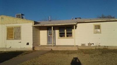 Odessa Single Family Home For Sale: 3212 Chestnut Ave