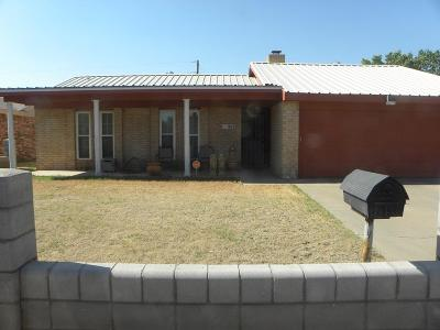 Odessa Single Family Home For Sale: 1835 W 26th St