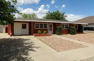 Odessa Single Family Home For Sale: 1605 E 12th St