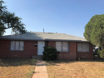 Midland Single Family Home For Sale: 3218 Baumann Ave