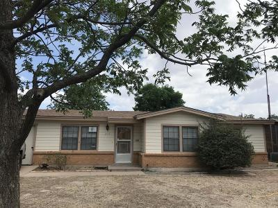 Odessa TX Single Family Home For Sale: $145,000