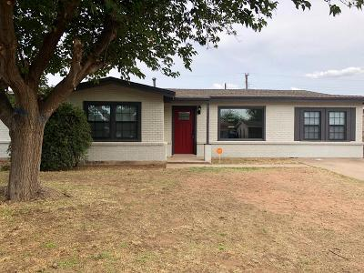 Odessa Single Family Home For Sale: 316 E 43rd St