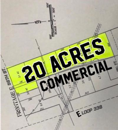 Odessa Residential Lots & Land For Sale: Tbd E 56th St