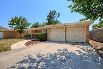 Odessa Single Family Home For Sale: 1455 Custer Ave