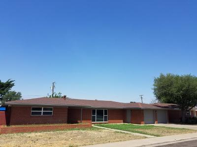 Odessa Single Family Home For Sale: 1707 Rosewood Ave