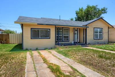 Odessa Single Family Home For Sale: 3126 Adams Ave