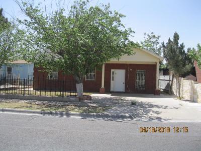 Odessa Single Family Home For Sale: 1211 Lindberg