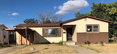 Odessa Single Family Home For Sale: 4614 Hendrick