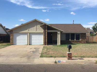 Midland Single Family Home For Sale: 4508 Palmer Dr