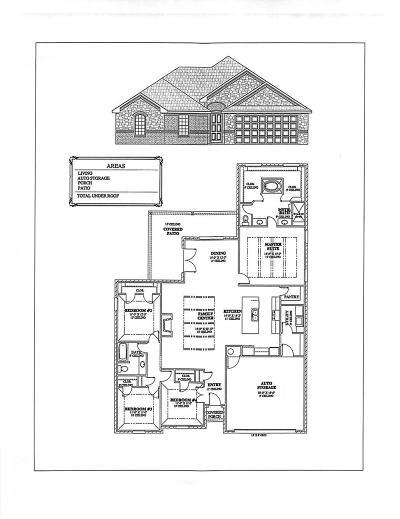 Midland Single Family Home For Sale: 1202 Burgandy Dr