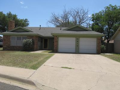 Midland Single Family Home For Sale: 3815 W Kansas Ave