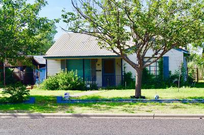 Odessa Single Family Home For Sale: 2115 W 10th St
