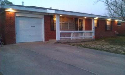 Odessa Single Family Home For Sale: 1207 Douglas Dr