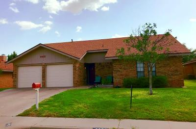 Odessa Single Family Home For Sale: 4421 Graves Dr