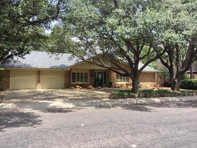 Odessa Single Family Home For Sale: 4125 Springdale Dr