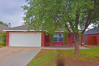 Odessa Single Family Home For Sale: 6307 Christopher Lane