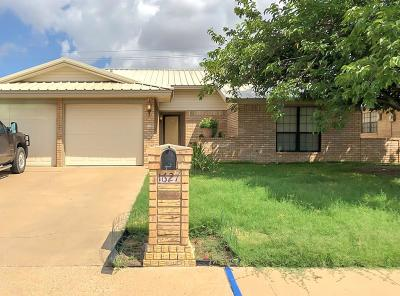 Odessa TX Single Family Home For Sale: $215,000