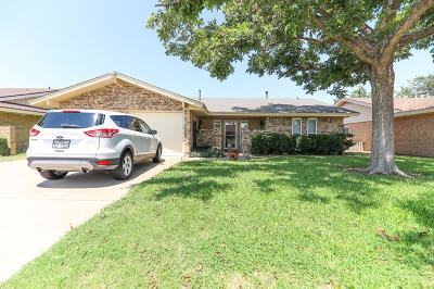 Odessa Single Family Home For Sale: 1307 Cordova St