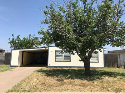 Odessa Single Family Home For Sale: 3724 Holley Ave