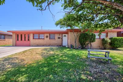 Odessa Single Family Home For Sale: 4216 Winchester Ave