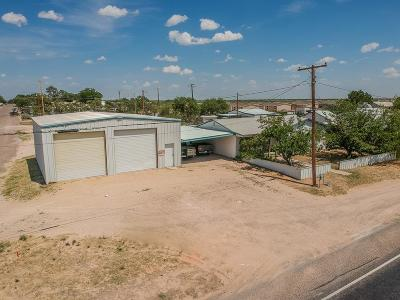Kermit TX Single Family Home For Sale: $135,000