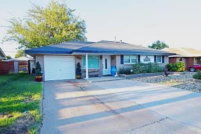 Midland Single Family Home For Sale: 4704 Leisure Dr